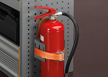 accessoires bedrijfswageninrichting brandblusser