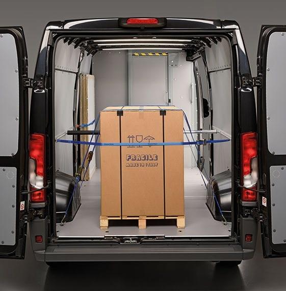 van load securing