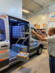storevan lifting system